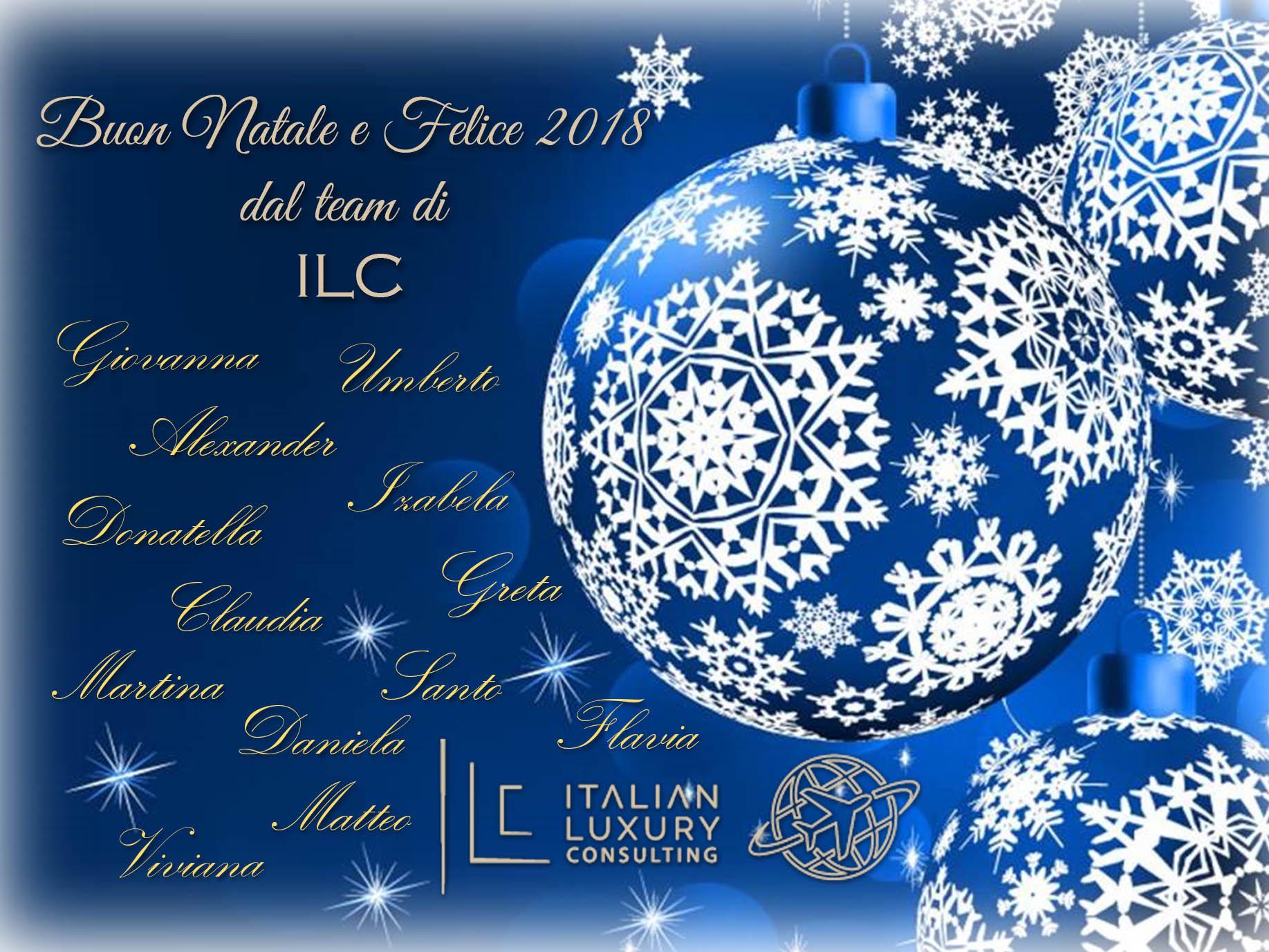 Buon Natale e Buon Anno da ILC