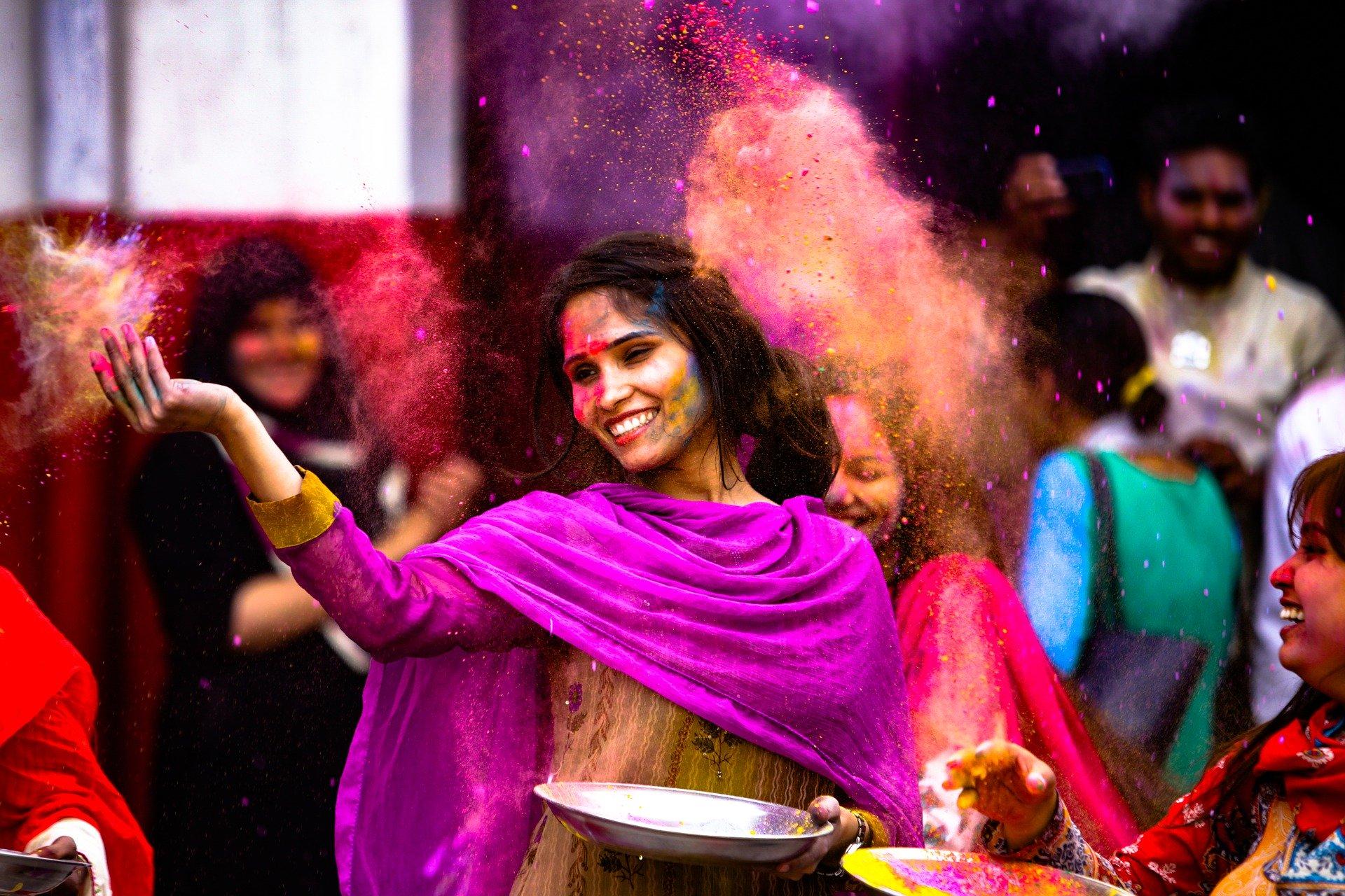 India Holi Festival Marzo 2020